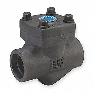 "1"" Piston Check Valve, Forged Carbon Steel, Socket Connection Type"