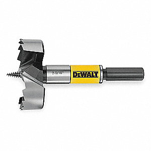 Wood Drilling Bit,1-3/8In.Dia.,Self Feed