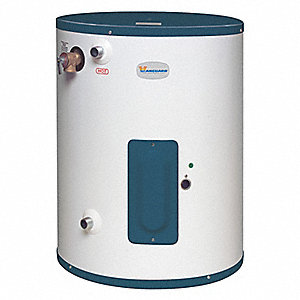 Residential Point-of-Use Electric Water Heater, 15 gal. Tank Capacity, 120VAC, 2000 Total Watts