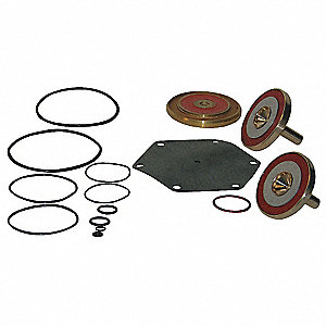 Backflow Preventer Repair Kit, For Use With Mfr. No. 21/2 909 NRS, 3 909 NRS