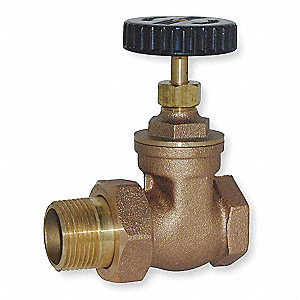 Radiator Gate Valve,Size 1-1/4 In