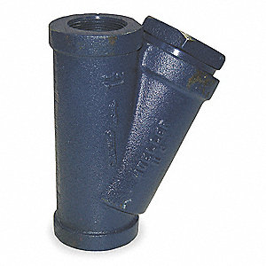Y Type Strainer,Ductile Iron,1/2 In