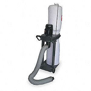 Mobile Dust Collector,1 HP,115/230 V