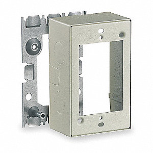 Steel Deep Extension Box For Use With 500 and 750 Raceways, Ivory