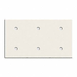 Steel Plate For Use With Bryant® Raceway, Almond