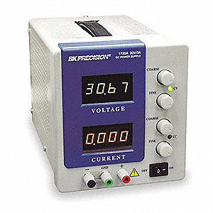 DC Power Supply,0-30 Volts,0-3 Amps