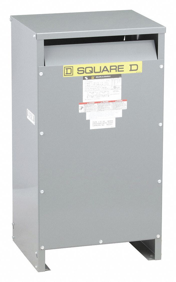 Square D Single Phase Energy Efficient Transformer 120vac