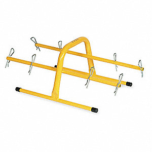 Wire Tote,Hand Carry,Capacity 80 Lb