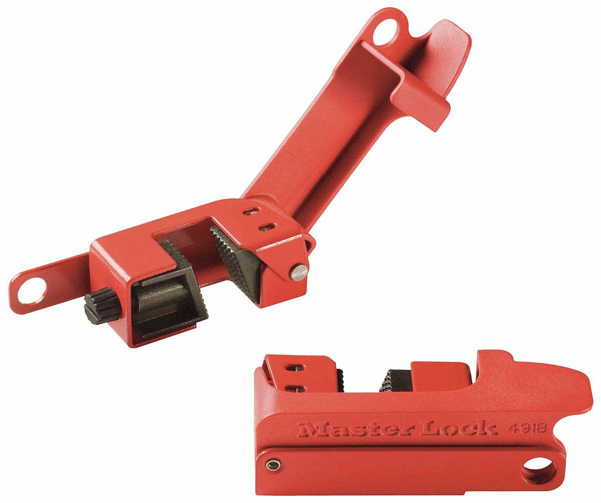 Master Lock Single Pole Breaker Lockout 120 277 Clamp On