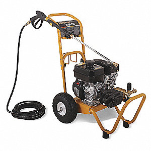 Pressure Washer, Cold Water Type, 3000 psi Operating Pressure, 2.4 gpm Flow Rate