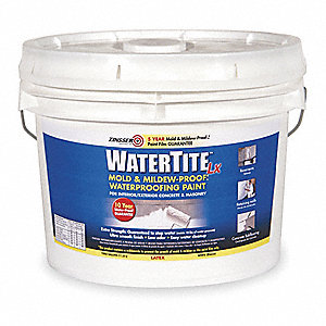Floor Paint,3 gal,Bright White