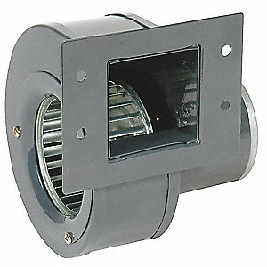 Rectangular OEM Blower With Flange, Voltage 230, 2880 RPM, Wheel Dia. 3-3/4""
