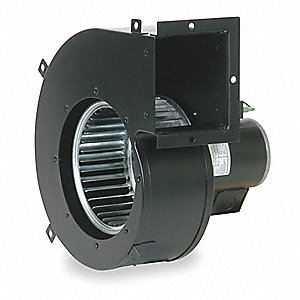 Rectangular OEM Blower With Flange, Voltage 115, 1650 RPM, Wheel Dia. 6-3/16""