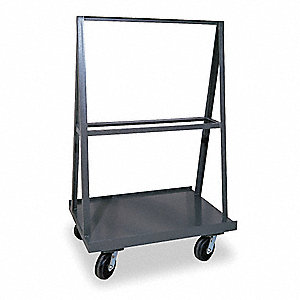 A-Frame Panel Truck, 2000 lb. Load Capacity, (4) Swivel Caster Wheel Type