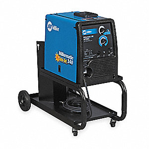 MIG Welder, Millermatic 140 w/Running Gear Series, Input Voltage: 115VAC, MIG/Flux Core