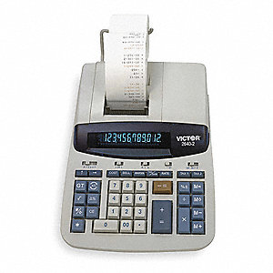 Desktop Calculator,Ribbon,12 Digits