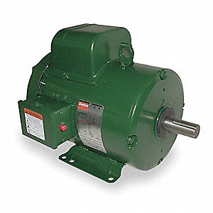 5 HP General Purpose Farm Duty Motor,Capacitor-Start,1740 Nameplate RPM,230 Voltage,Frame 184T