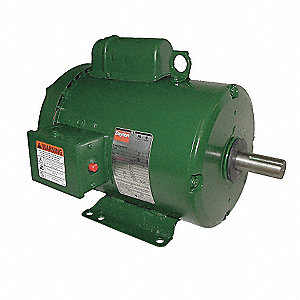 2 HP General Purpose Farm Duty Motor,Capacitor-Start,1740 Nameplate RPM,115/230 Voltage