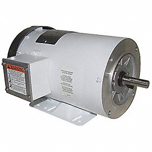 2 HP Washdown Motor,3-Phase,3450 Nameplate RPM,208-230/460 Voltage,Frame 56HC