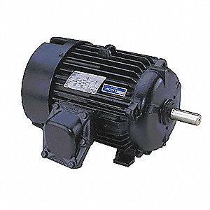 20 HP Hazardous Location Motor,3-Phase,1175 Nameplate RPM,230/460 Voltage,Frame 284/6T