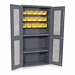 "Bin Cabinet, 72"" Overall Height, 36"" Overall Width"