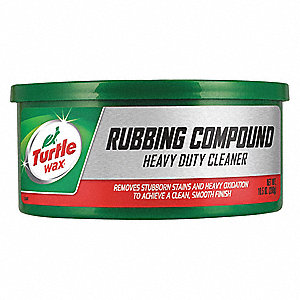 HD Rubbing Compound,10.5 Oz,Can,Red