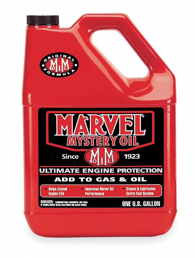 Marvel Mystery Oil Oil Additive 1gal Red Transparent