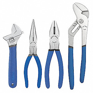 Pliers Set, Number of Pieces: 4