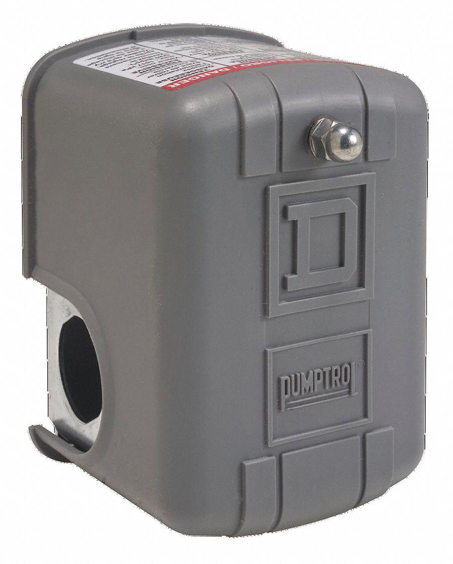 Square d air compressor and water pump pressure switch