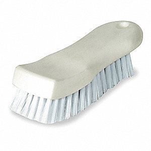 "6-1/2"" Plastic Curved Scrub Brush"
