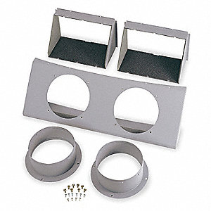 Duct Adapter Kit,8 In. Dia.