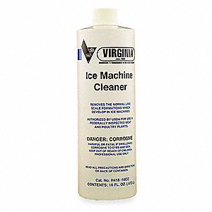 Ice Machine Cleaner,16 fl. oz.,Clear