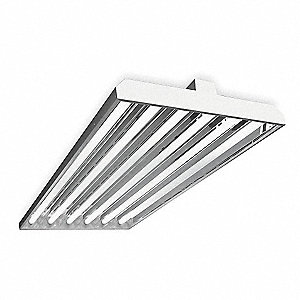 306W Fluorescent High Bay Fixture, 347 to 480V Voltage, Suggested Lamp Item No. 5AE35