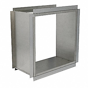 HD Wall Collar,54 In,Galvanized Steel