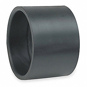 "Coupling, 1-1/2"" Pipe Size, Hub x Hub Connection Type"