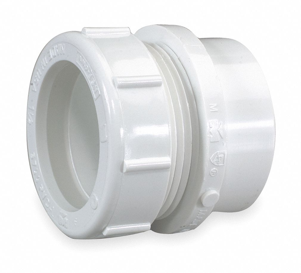 Mueller industries pvc male trap adapter with nut and