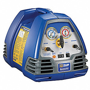 Refrigerant Recovery Machine,1/2 HP,115V