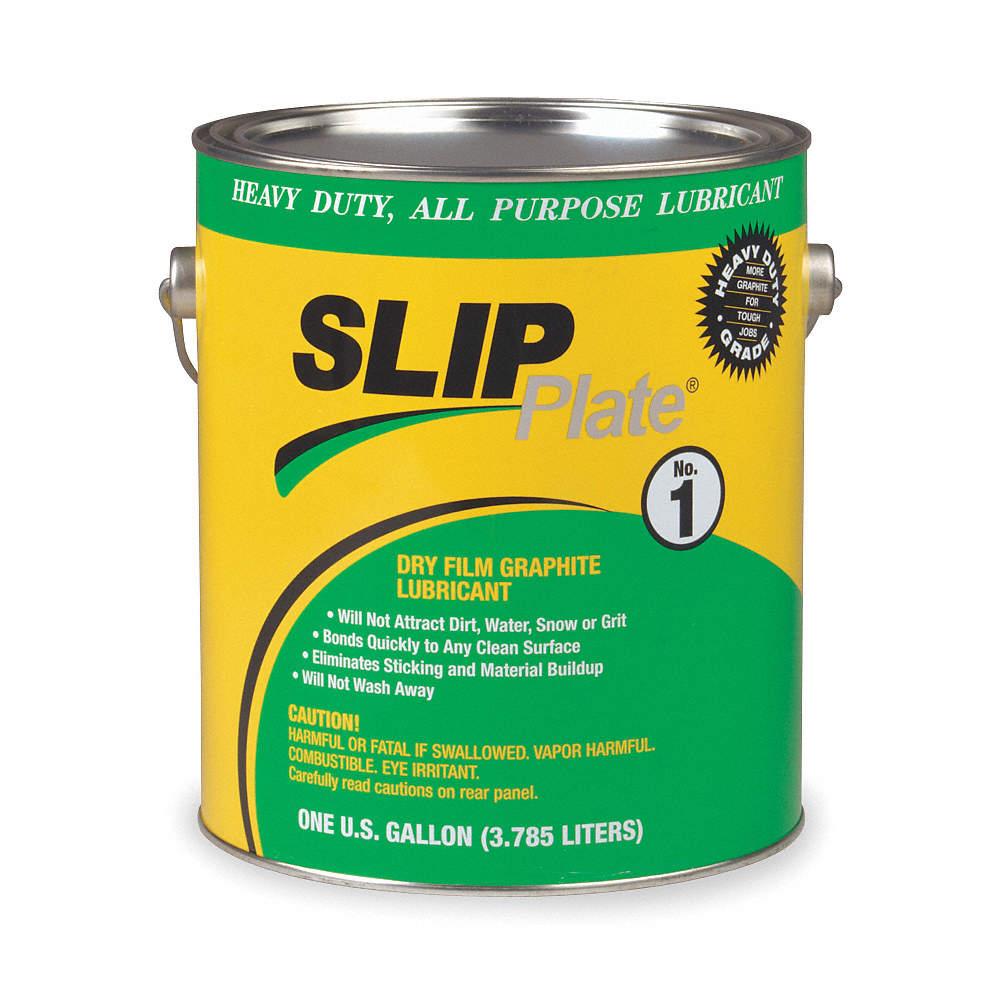 Slip Plate 33015 Graphite Dry Film Lubricant, 1 Gal at Sears.com