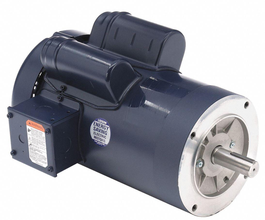 Leeson Saw Motor 3 Hp 3450 Rpm 230v 1xen3