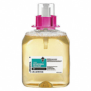 Antibacterial Soap Refill, Floral Fragrance, 1250mL, PK 3