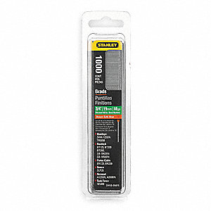 Brad Nails,3/4 In,Brown,PK1000