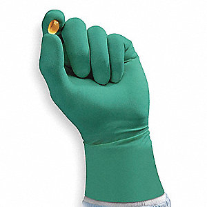 Cleanroom Gloves,Size 8-1/2,7 mil,PK200