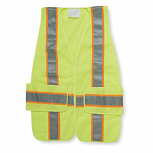 Polyester Expandable High Visibility Vest, Class 2