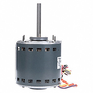 3/4 HP Direct Drive Blower Motor, Permanent Split Capacitor, 1075 Nameplate RPM, 208-230 Voltage