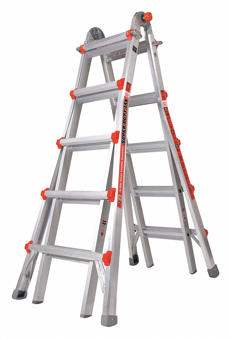 Little Giant 22 Ft Aluminum Multipurpose Ladder 375 Lb