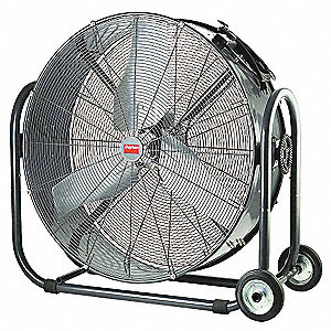 "36"" Industrial Mobile Non-Oscillating Air Circulator"