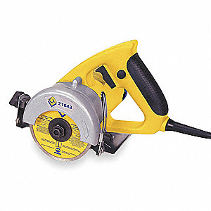 Hand Held Tile Saw,Dry Cut,,4 In. Blade