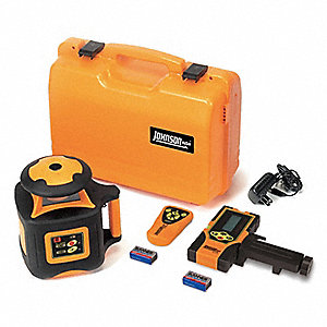 Electronic Self-Leveling Rotary Laser Level, Horizontal, Exterior