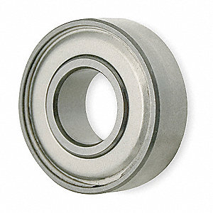 Mini Ball Bearing,Shielded,Bore 0.2500In