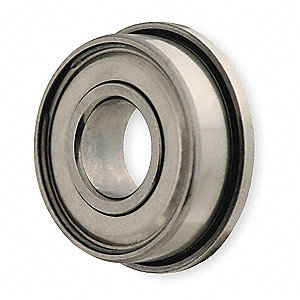 Mini Ball Bearing,Flanged,Bore 0.2500 In